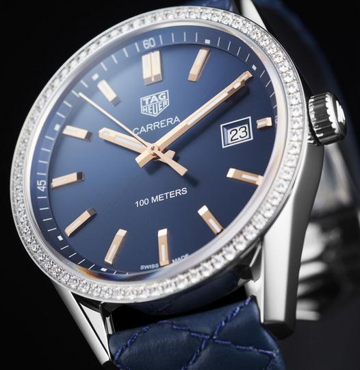 013cc6bbdadd Replica Tag Heuer Carrera Cuarzo Azul Dail Senoras Reloj WAR1114.FC6391 En  Venta